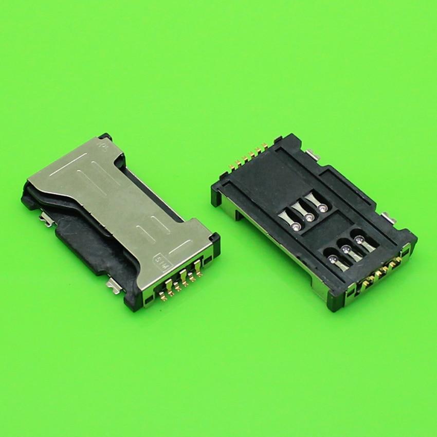 ChengHaoRan 1 Piece for samsung S7562 S7562I I589 C6712 I8262D I739 SIM card socket reader tray holder slot connector,KA-173