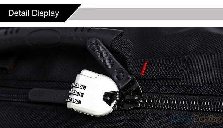 KAKA Men Backpack Travel Bag Large Capacity Versatile Utility Mountaineering Multifunctional Waterproof Backpack Luggage Bag 21