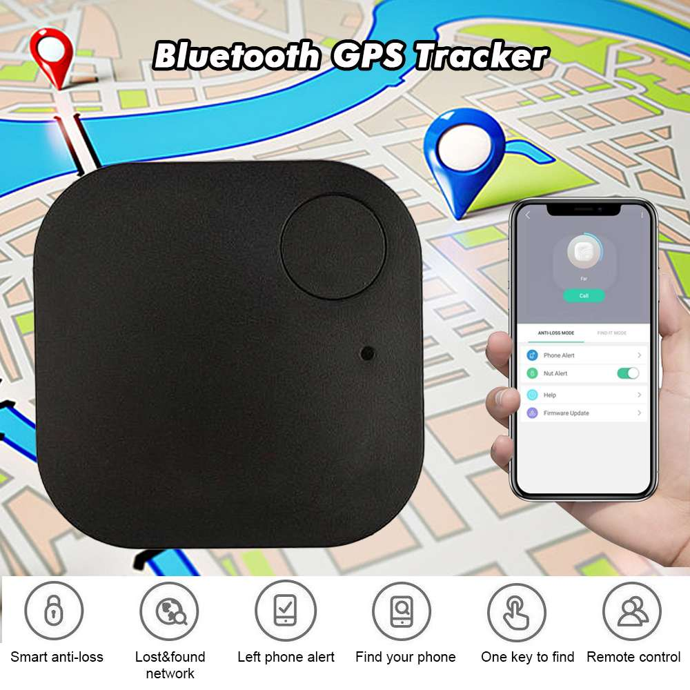 Wireless Key Finder Smart Tracker GPS Luetooth Locator Remote Key Tag Anti Lost Keychain Alarm For Kids Pet Dog Cat Child Phone