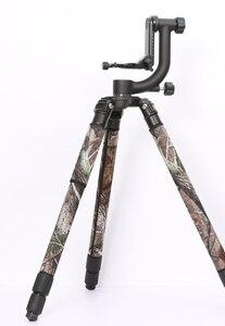 Image 2 - Rolanpro direto da fábrica moda personalidade tripé casaco camuflagem manga/perna congelar para gitzo manfrotto benro rrs sirui