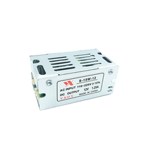 Mini Formaat LED Schakelende Voeding 12 v 1.25A 15 w Verlichting Transformator Power Adapter AC100V 110 v 127 v 220 v om DC12V Led Driver