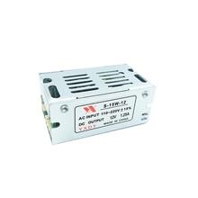 Mini transformador de energia com led, transformador de iluminação para comutação, fonte de alimentação de 12v, 1.25a, 15w, ac100v 110v 127v driver de led 220v para dc12v