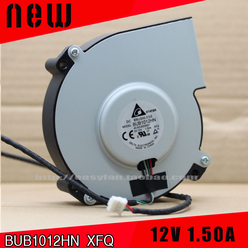 New and original DELTA BUB1012HN 12V 1.50A Projector cooling fan 4-wire centrifugal turbine blower free shipping new and original for delta ahb1748ghg 48v 1 82a 4 wire pwm cooling fan