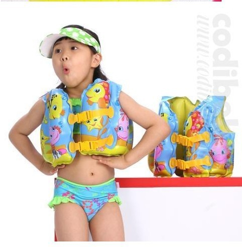 free shipping Intex 59661 beach swimming swim vest child children kids guys baby swimwear inflatable life vest jacket swimsuit
