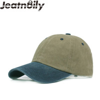 JEATNOILY Fashion Cotton Washed Outdoor Man And Women Common Baseball Cap Snapback Hat Summer Spring