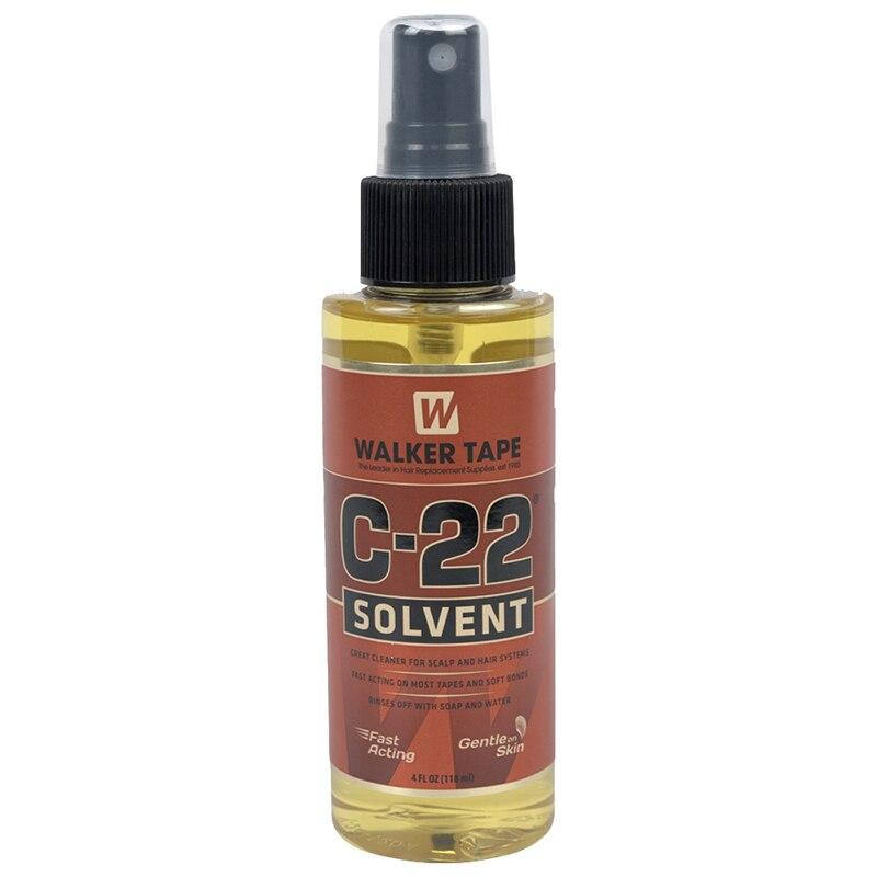 4 oz C-22 Cheveux Bande Solvant Adhésifs Remover Pour Forte Ruban Adhésif Double Face Et Liaisons Douces Perruque Colle Remover c22 WALKER