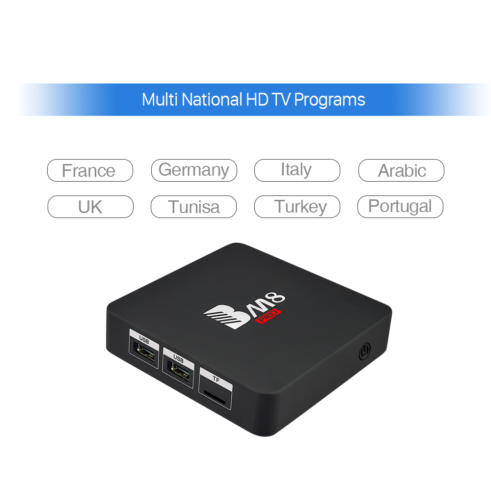 Octa Core Europe Arabic IPTV 1300 Channels In Box BM8PRO S912 2GB 32GB Android 6.0 Dual Wifi Smart TV Box IPTV Loaded nirmal singh japinder kaur and amteshwar s jaggi k channels in cerebroprotective mechanism of ischemic postconditioning