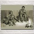 The Last of Us Jogo de Ação Zombie Survival Horror Art Silk Poster Home Decor Pintura 12x16 18x24 24x32 30x40 Polegadas Frete Grátis