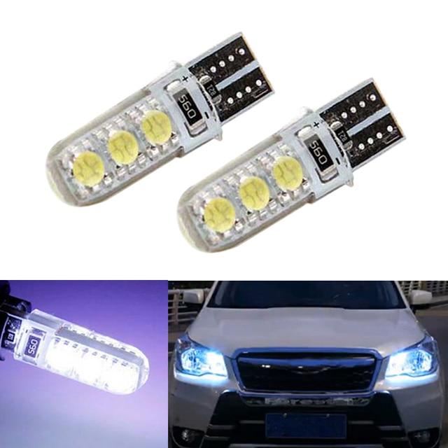 2x T10 LED W5W LED רכב LED 12 V מנורת אישור אוטומטי אור חניה לסובארו אימפרזה xv פורסטר אאוטבק legacy טרייבקה פיאט