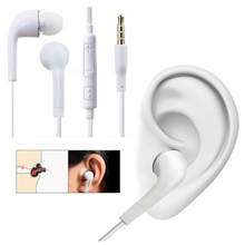In-Ear Wired 3.5mm Earphone J5 Sport earphones with Mic Earbuds Stereo fone de ouvido Headpset Universal for Xiaomi iPhone PC S8