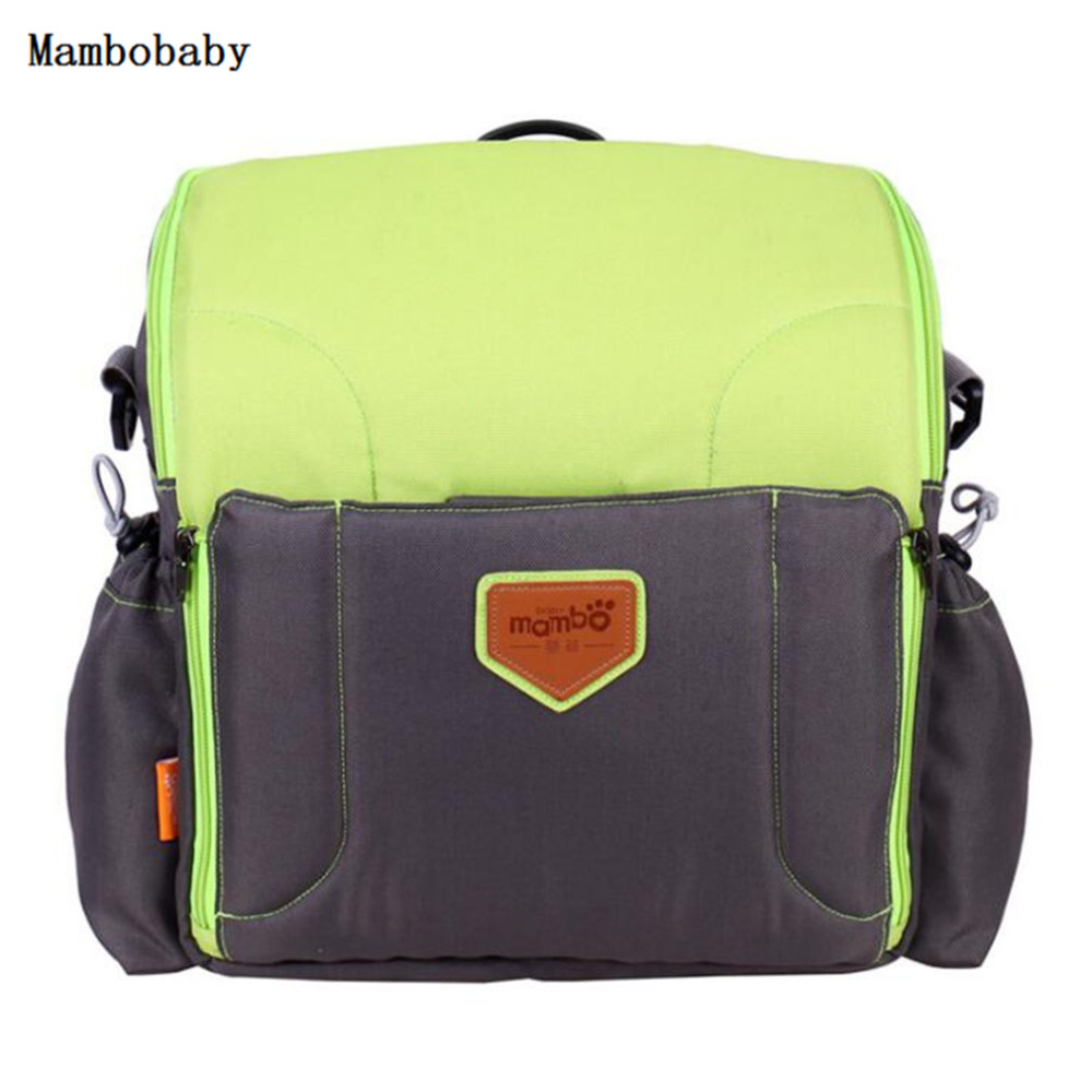 Hot ! Mambobaby Diaper Bag Mummy Maternity Nappy Bag Large Capacity Backpack Multifunction Fashion Travel Baby Nursing Bag Care 2016 fashion big capacity waterproof diaper bag multifunction mummy maternity nappy bags baby travel bag backpack brand 7 colors