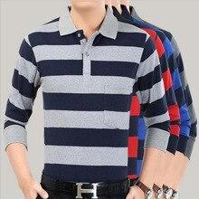 New Style Middle Aged Sports Shirt  Blouse Overshirt Lapel Long Sleeved Baseball blouse Fathers Clothing Athletic Shirts