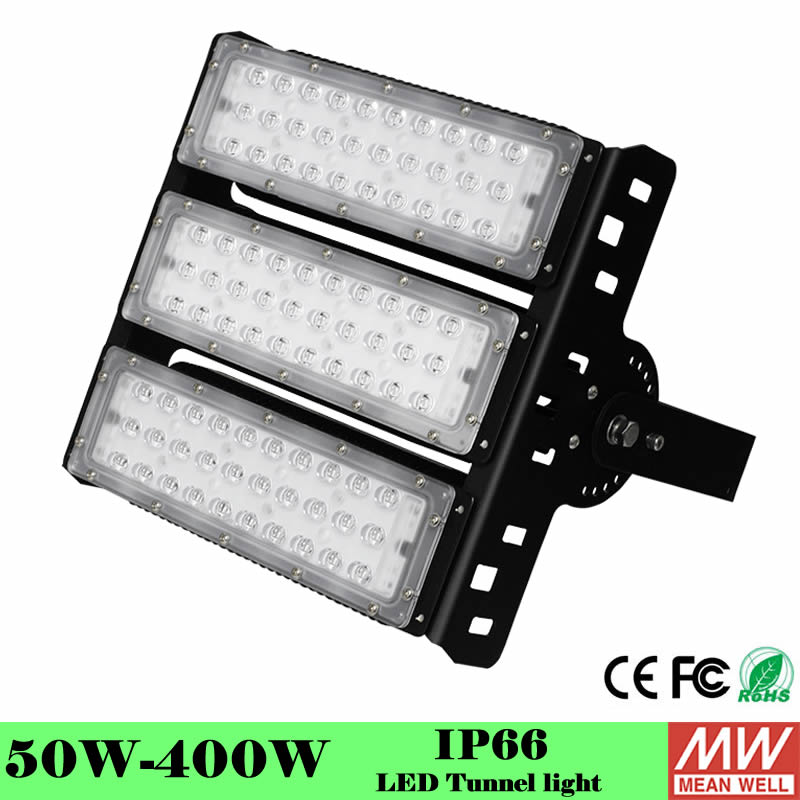 Us 79 92 20 Off Ultra Bright Led Floodlight 50w 100w 150w 200w 250w 300w Meanwell Driver High Quality Flood Lighting Led Tunnel Lamp Fixture In