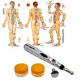 Health care monitor Electric meridians Laser Acupuncture Magnet Therapy instrument Heal Massage Meridian Energy Pen massager