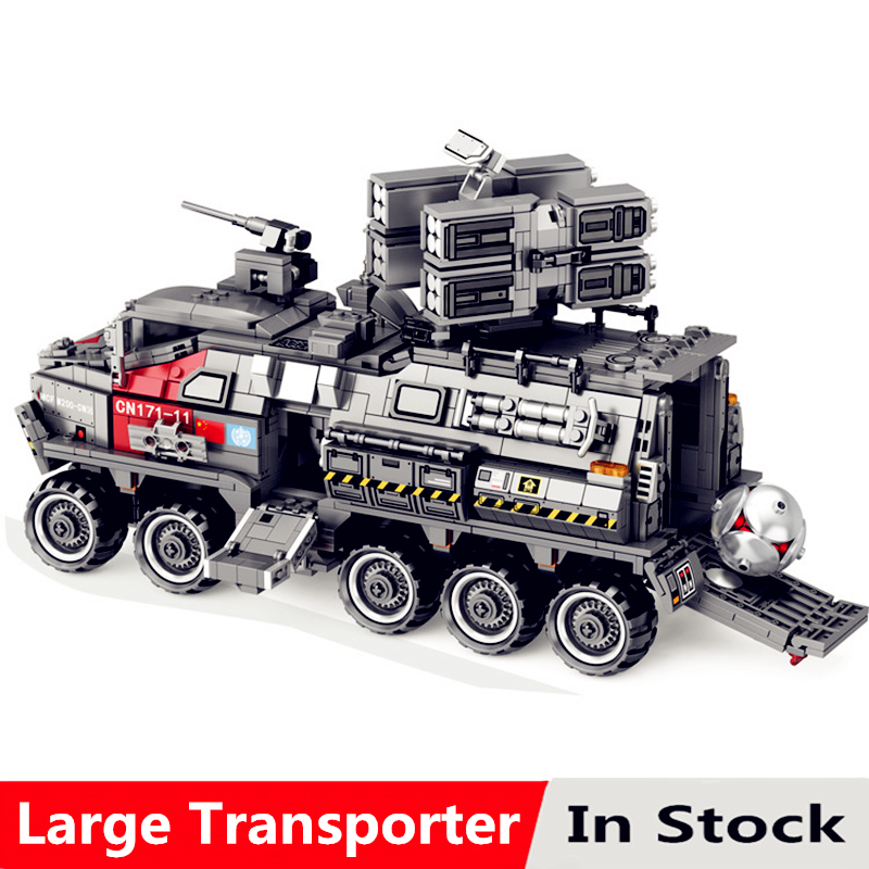 Wandering Earth Series The Large Transporter Kits Model Set Compatible With Legoingly Building Blocks Bricks Toys For ChildrenWandering Earth Series The Large Transporter Kits Model Set Compatible With Legoingly Building Blocks Bricks Toys For Children
