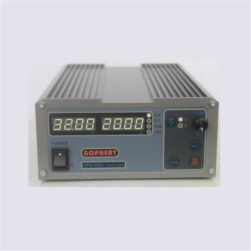 DC Regulated Power Supply CPS-3220 0-32V 0-20A DC Power Supply rps3020d 2 digital dc power adjustable power 30v 20a power supply linear power notebook maintenance