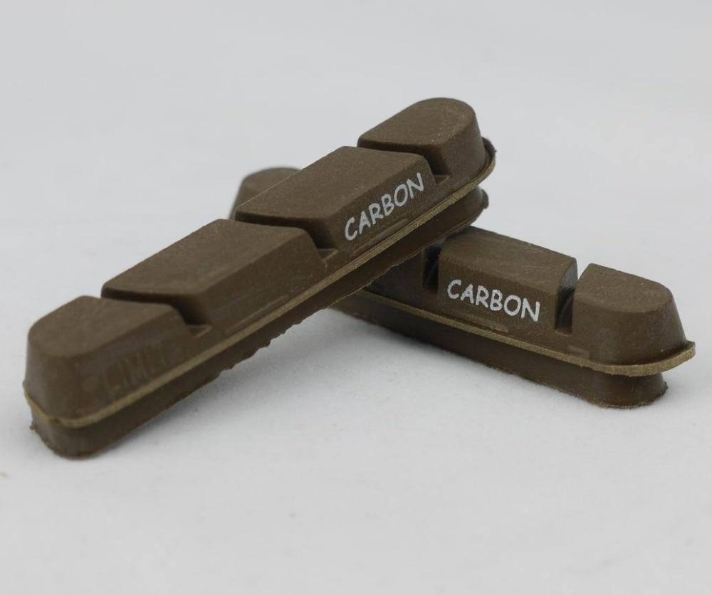 ROAD BIKE BRAKE PADS SHOES CORK CARBON RIMS SUIT SHIMANO Dura Ace Ultegra 105