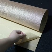 Самоклеящиеся блестящие настенные бумажные рулоны для стен пилинг и палка рулон декор ремесло ткань контактная Бумага свадьба
