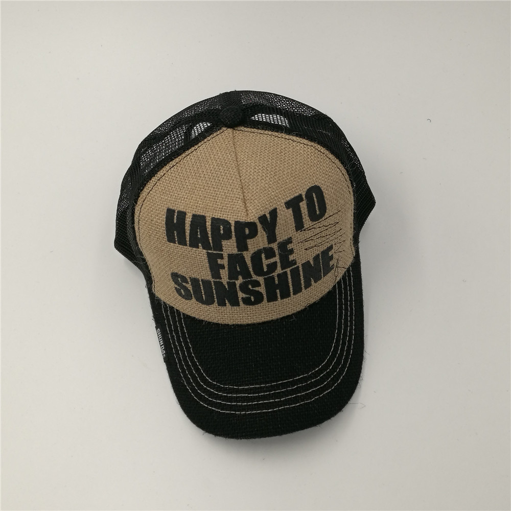 Trucker-Hat CLOTH Mesh Snapback Gimme-Cap Xxl-Size Vintage Breathable Summer Linen SPECIAL