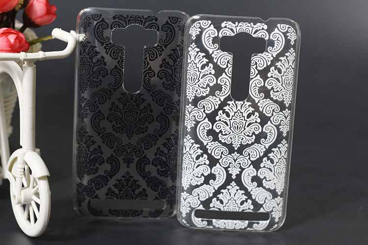 Beautiful Paisley Flower Type Case For ASUS Zenfone 2 Laser ZE500KL Clearly Brilliant Print For Asus 2 laser ze500kl case cover