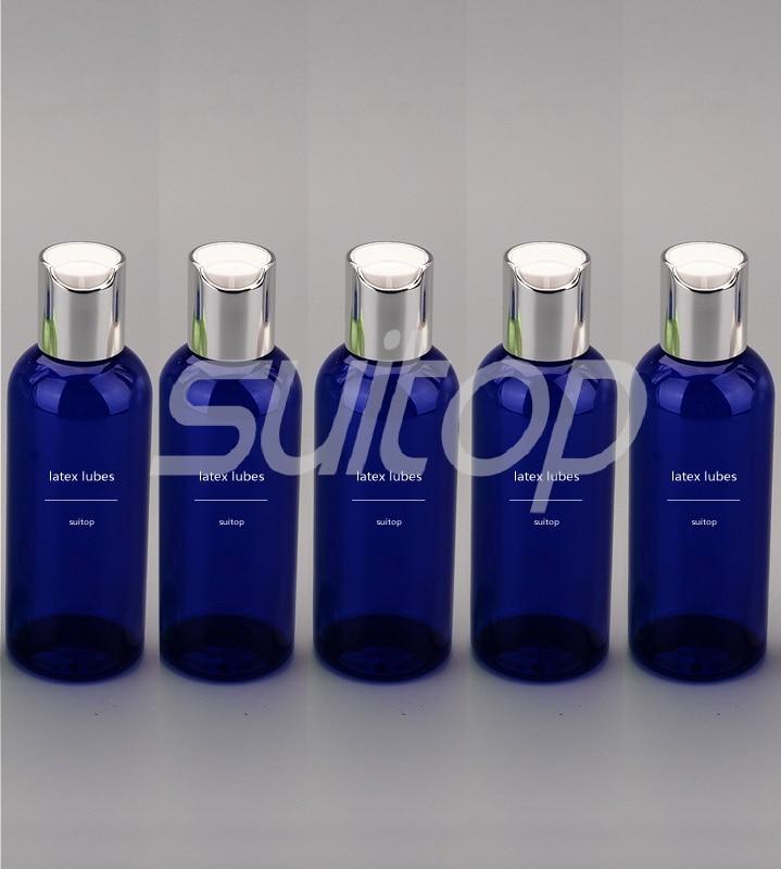 Латексные резиновые наконечники 100 мл (прозрачные)