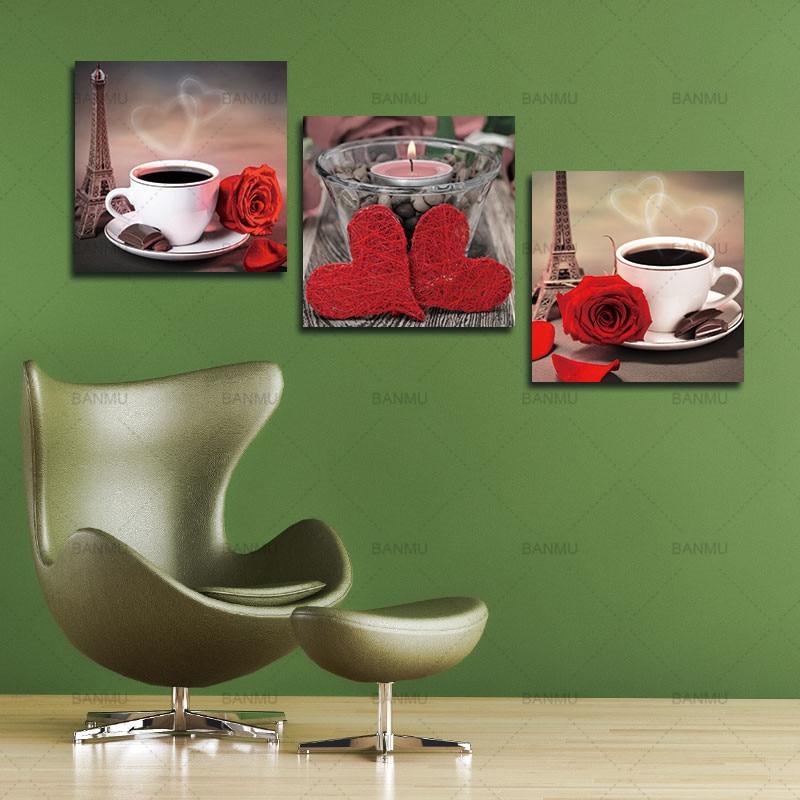 Платно за картини 3 части Модулни - Декор за дома - Снимка 6