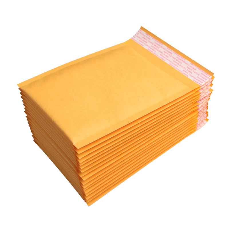 50pcs 12X16cm Manufacturer Kraft Bubble Bags Mailers Padded Envelopes Shipping Paper Mailing Bags цены