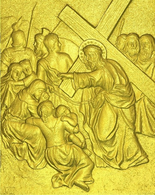 New 3d Model Relief  For Cnc In RLF File Format 8 From 14 Jesus All Scenes Way Of The Cross