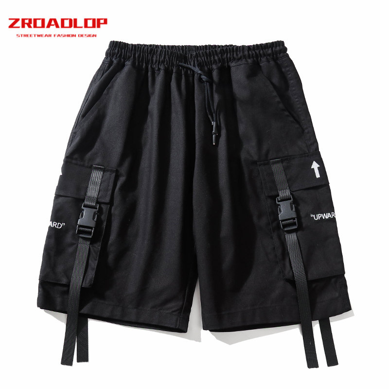 ZROADLOP Mens Military Cargo Shorts 2019 Brand New Army Baggy Trousers Tactical Shorts Men Cotton Loose Work Casual Short Pants