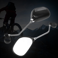 Bicycle Rearview Mirror Cycling Safety Handlebar MTB Road Bike Reflective Convex Bike Mirrors     -