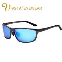 IVSTA Night Sunglasses Polarized Lenses wrap aluminum-magnesium driver day and night vision sunglasses 2179 Al-Mg style