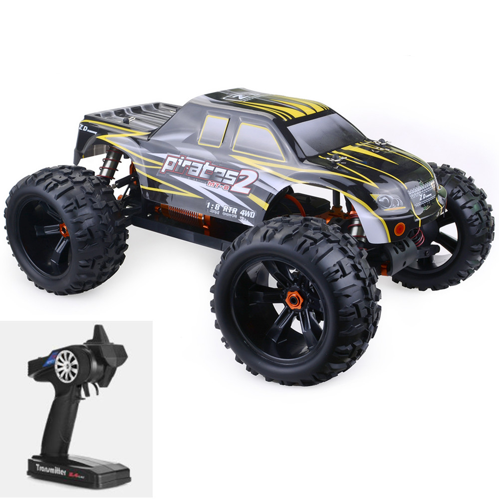 1/8 ZD Racing 9116-V3 RC Cars DIY Racing Monster Truck Full-Scale Tiny Real Racing Car Alloy 6061 DIY Frame Outdoor Car Toys  - buy with discount
