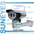 SunEyes SP-P703WZ Wireless 720P HD Pan/Tilt/Zoom IP Network Camera Outdoor Weatherproof PTZ CCTV with Micro SD Slot and P2P