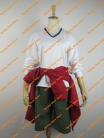 Free Shipping K Yata Misaki Customized Anime Cosplay Costume Full Set Uniform With Hat