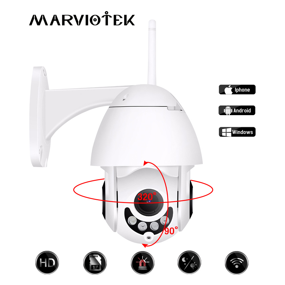 720 P mini caméra HD caméra ip sans fil Wifi Extérieure Vitesse Dôme caméra cctv 1080 P de Sécurité À Domicile Vidéo Surveillance dans les Deux Voies Audio