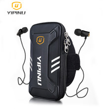Yipinu Waterproof Small Fitness Running Bag Wallet Jogging Phone Holder Purse Armband Gym Arm Bag Sports Accessories 4-6 Inch(China)