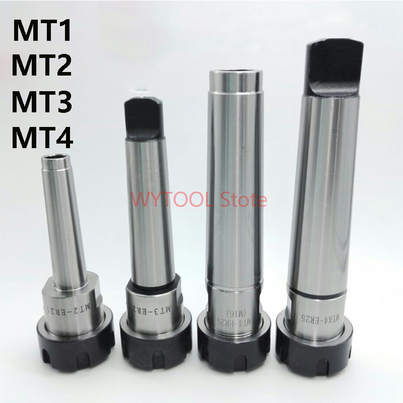 ER16 er16a Collet Chuck Holder Morse Taper MT1 MTA1 Shank For CNC Lathes