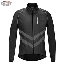 WOSAWE Motorcycle Reflective Jacket High Visibility Safety Vest Motocross Motorbike Jacket Windbreaker off Road Racing Clothes цена и фото