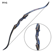 American Hunting Recurve Bow 30lbs 40lbs 50lbs for Adult Men Women Right Hand Shooting Training Pratice Takedown Wooden Longbow