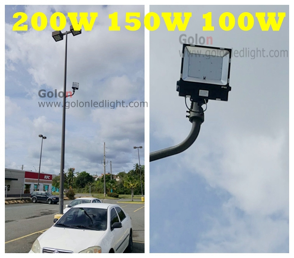 Led Security Flood Light 100w Replace Halogen Lamp 400w Outdoor Ip65 Waterproof Best Price High Quality