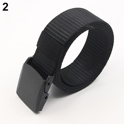 Handsome Men Women Fashion outdoor Practical Tactical Nylon Buckle Waist   Belt   Military Equipment Army   Belt   Cool Waistbelt New