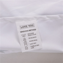 White Pillow Cases Bedding For Couple Personalized Forever Love Pillowcases Cover Wedding Gift 50X75cm 50X90cm