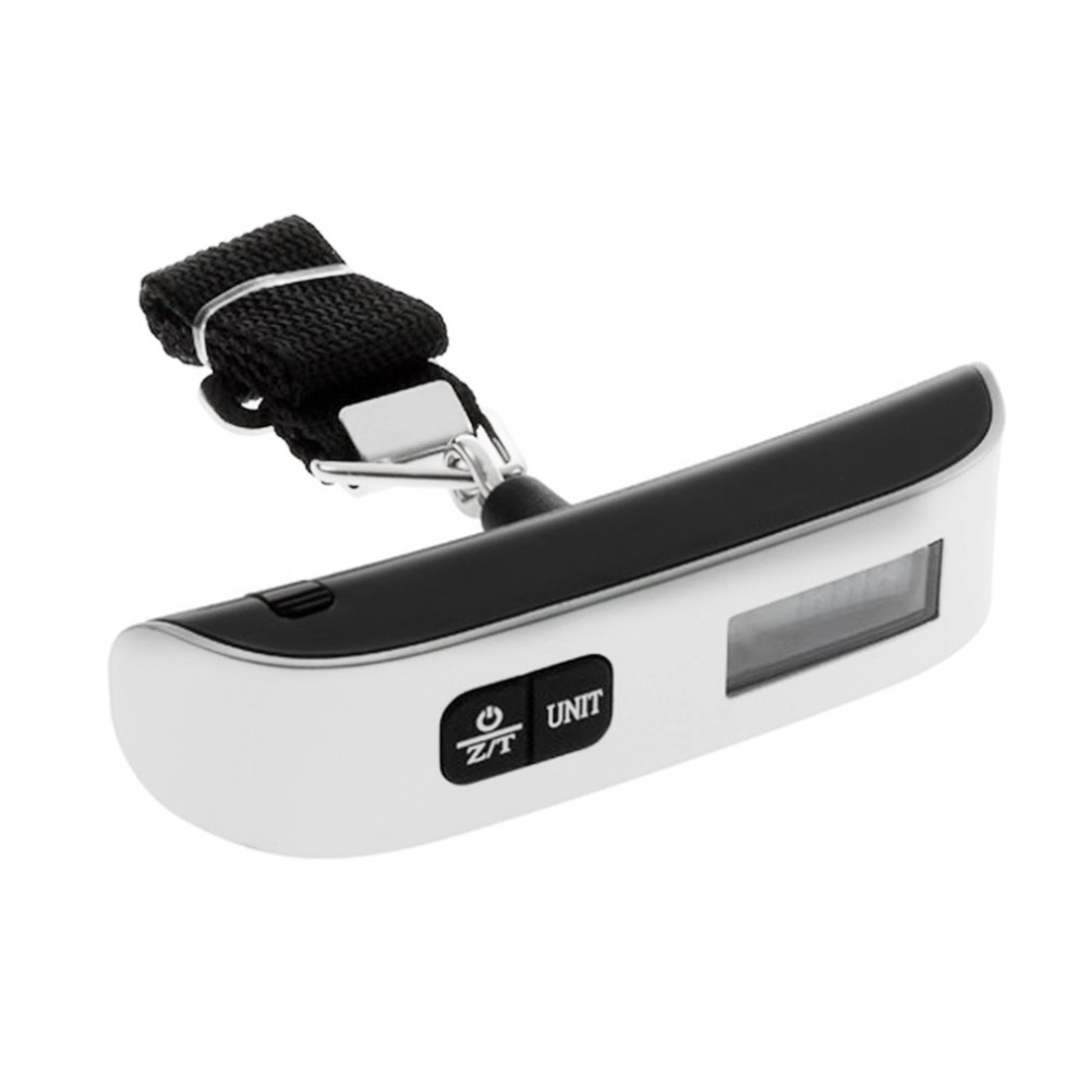50 kg 110 lb Electronic LCD Digital Portable Hanging Weight Weighting Scale Luggage Scale for Luggage Suitcase Travel Bag