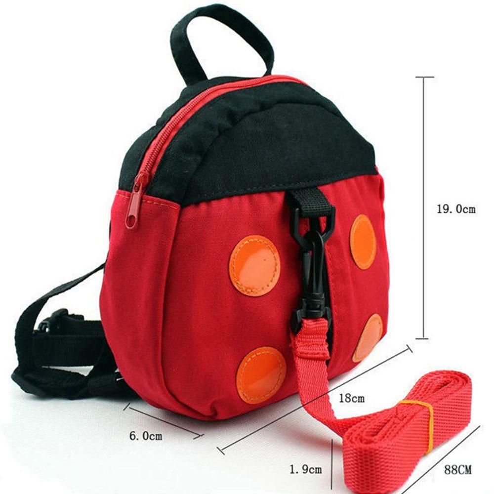 прогулки детская безопасность малышей поводья рюкзак сумка для детей божья коровка