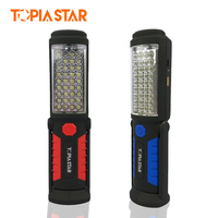 TOPIA STAR COB Led Work Lamp Light USB Rechargeable Flashlight Emergency Torch Portable Magnetic Led Car