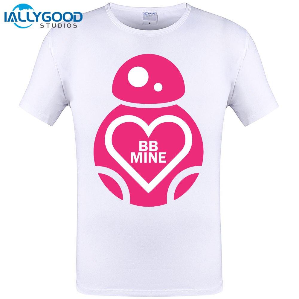 Heart design t shirt - Valentines Day Bb Mine Love Heart Design Men Cool T Shirt Summer Short Sleeve T