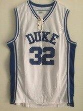8b820f21d89 2018 Mens Cheap Throwback Basketball Jerseys  32 Christian Laettner Duke  University White Retro Basketball Jersey