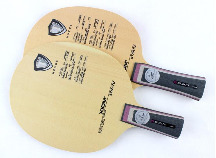 [Playa PingPong] Original Xiom STRATO table tennis blade racquet sports indoor sports xiom table tennis racket Cypress blade original xiom tau 79 014 table tennis rubber made in germany table tennis racket indoor sports racquet sports