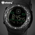 INFANTRY Luxury Brand Men Sports Watches Digital LED Military Watch Rubber Strap Marine Corps Wristwatches Relogio Masculino