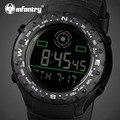 Infantry luxo marca men sports relógios led digital militar assista pulseira de borracha marine corps relógios de pulso relogio masculino